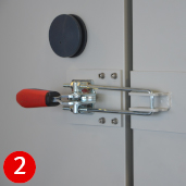 Door-locking mechanism